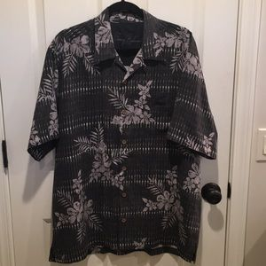 Tommy Bahama silk short sleeve shirt